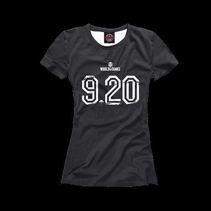 Футболки WOT 9.20 черные
