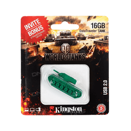 USB-накопитель Kingston DataTraveler TANK (16 Gb)