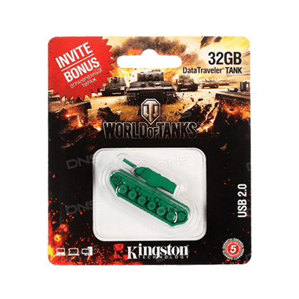 USB-накопитель Kingston DataTraveler TANK (32 Gb)