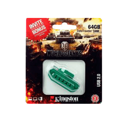 USB-накопитель Kingston DataTraveler TANK (64 Gb)