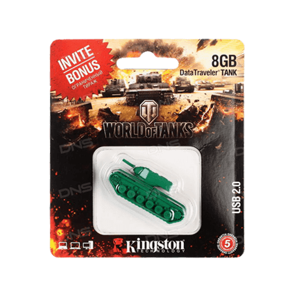 USB-накопитель Kingston DataTraveler TANK (8 Gb)