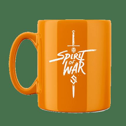 Кружка WoT Sabaton Sword оранжевая. Предзаказ