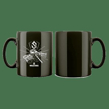Кружка WoT Sabaton Tank logo черная. Предзаказ