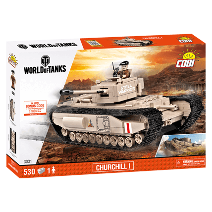 Конструктор Churchill I World of Tanks