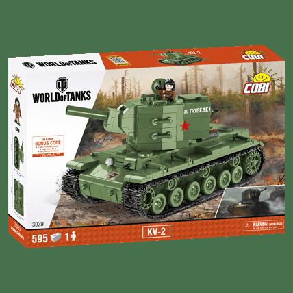 Конструктор КВ-2 World of Tanks