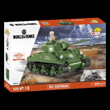 Конструктор M4 Sherman World of Tanks