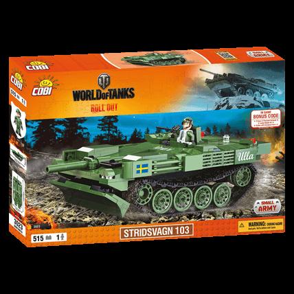 Конструктор Stridsvagn World of Tanks