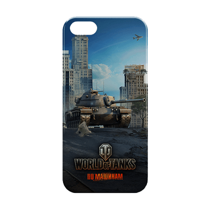 Чехол для iPhone 5/5S «Вторжение» World of Tanks