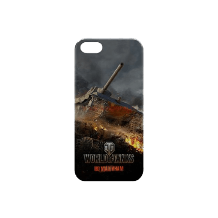 Чехол для iPhone 5/5s «Победный рубеж» World of Tanks