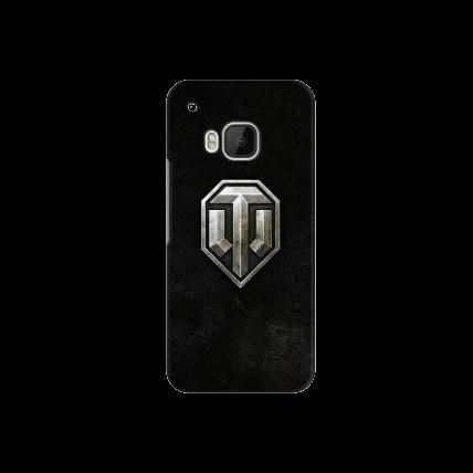 "Чехол Art Case и защитная пленка WOT ""Эмблема"" для HTC One M9, Deppa"