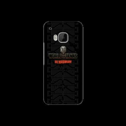 """Чехол Art Case и защитная пленка WOT """"Протектор"""" для HTC One M9, Deppa"""