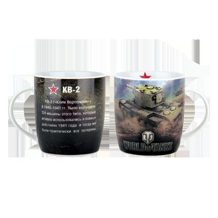 Кружка World of Tanks «КВ-2» керамическая 350 мл