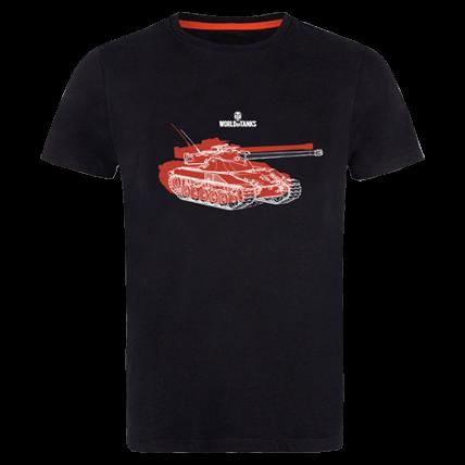 Футболка World of Tanks Bat.-Chatillon (red)