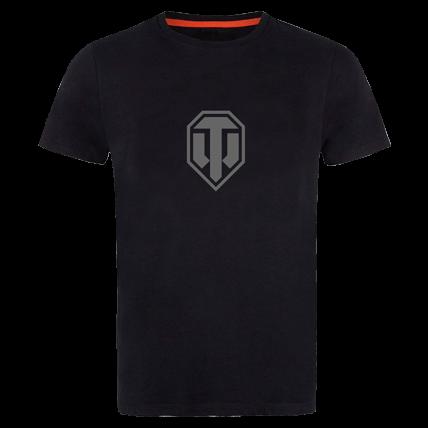 Футболка World of Tanks с серым лого