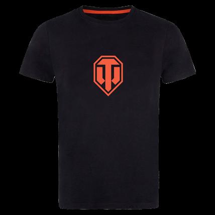 Футболка World of Tanks с оранжевым лого