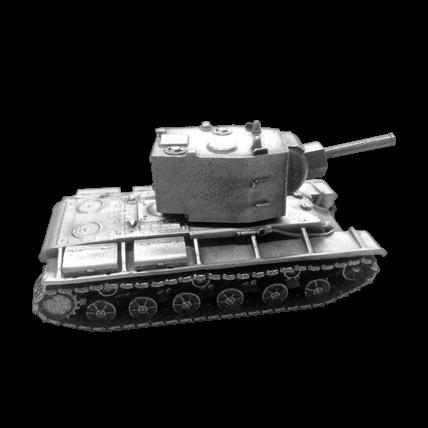 Модель танка КВ-2 без подставки (1:72)
