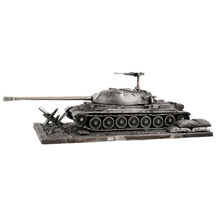 Танк ИС-7 с подставкой (1:72)