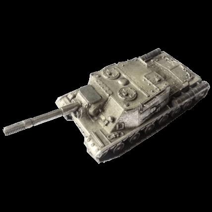 Танк ИСУ-152 без подставки (1:72)