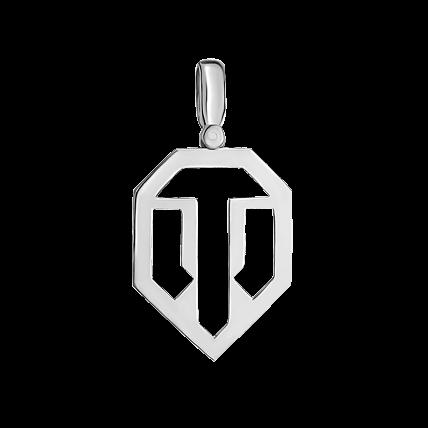 Кулон WoT лого 3