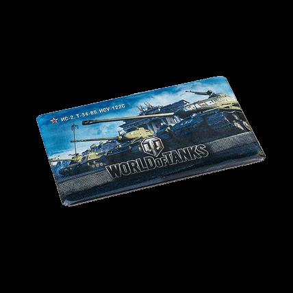 Магнит виниловый «Советские танки WoT»