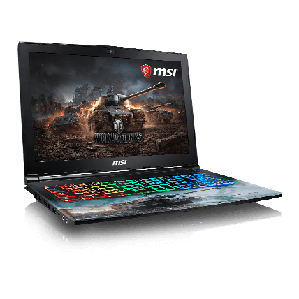 World of Tanks. Ноутбук MSI GP62M 7RDX(WOT Edition)-1276RU