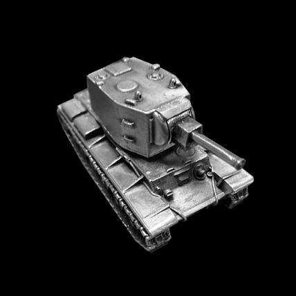 Модель танка КВ-2 (1:100) без подставки