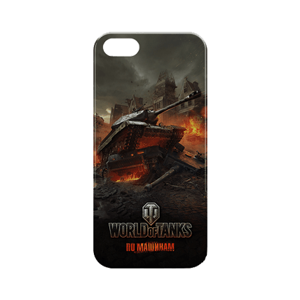 Чехол для iPhone 5/5S «Доминатор» World of Tanks