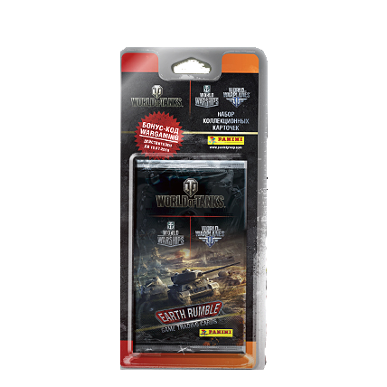 Блистер World of Tanks TCG
