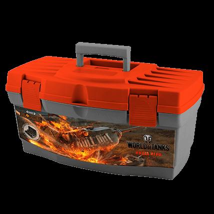 Ящик для инструментов World of Tanks, 40,5 х 21,5 х 23 см