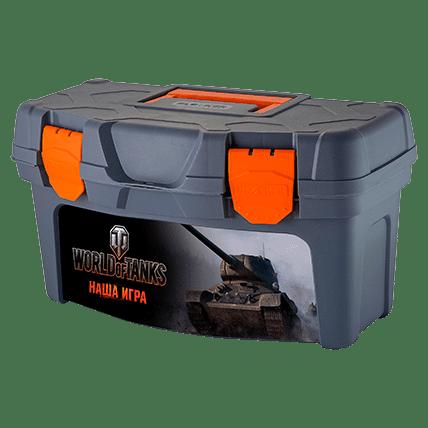 Ящик для инструментов World of Tanks, 40.7 х 21.8 х 22.3 см