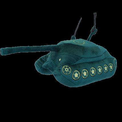 Игрушка плюшевая «Танк ИС-7» WoT
