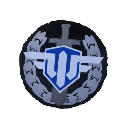 Подушка плюшевая WoWP «Ас»