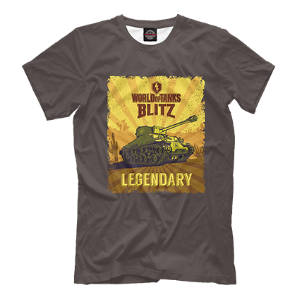 Футболки WoT Blitz Legendary Sherman