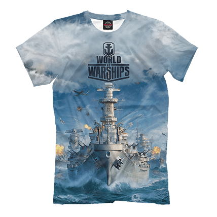 Футболки World of Warships