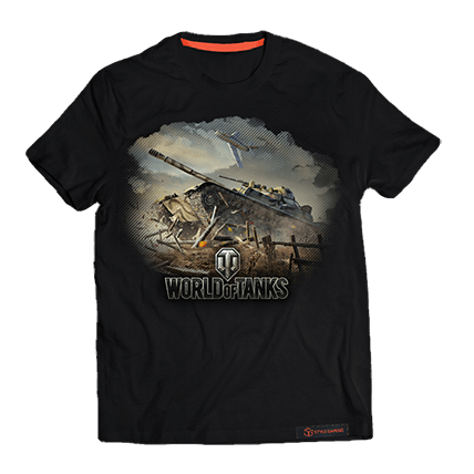 Футболка World of Tanks «Стальной характер»