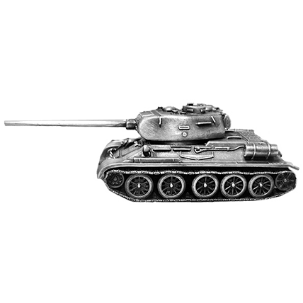 Танк Т-34-85 без подставки (1:72)