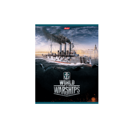 Тетрадь World of Warships (48 л) — Выпуск№1
